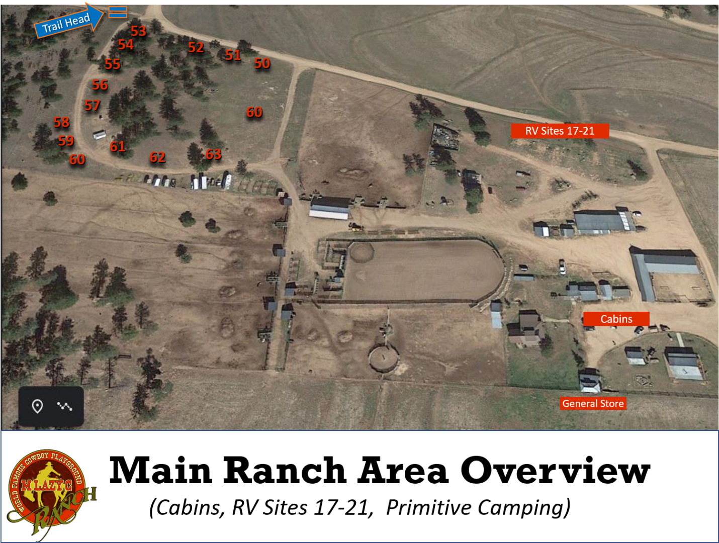 Main Ranch Area Overview